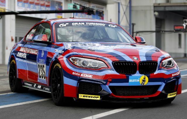 BMW M235i Wears Special Livery for Nurburgring 24 Hours.