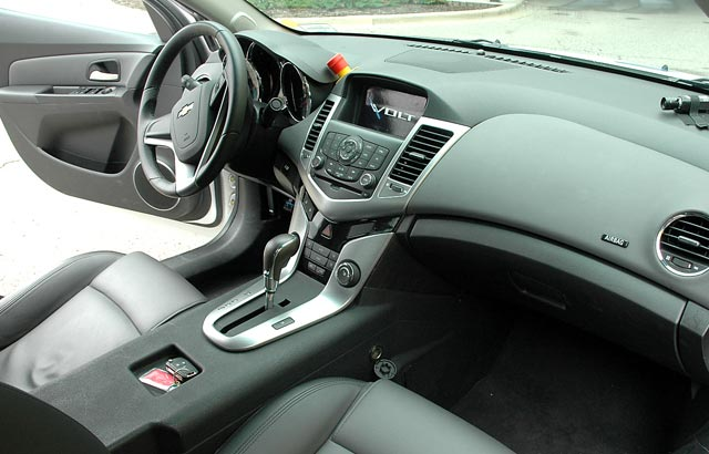 Chevy Volt Test Mule Interior