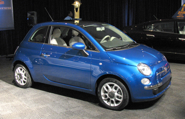 Fiat 500 - Design Car of the Year Winner.