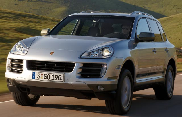 Porsche Builds Hybrid SUV