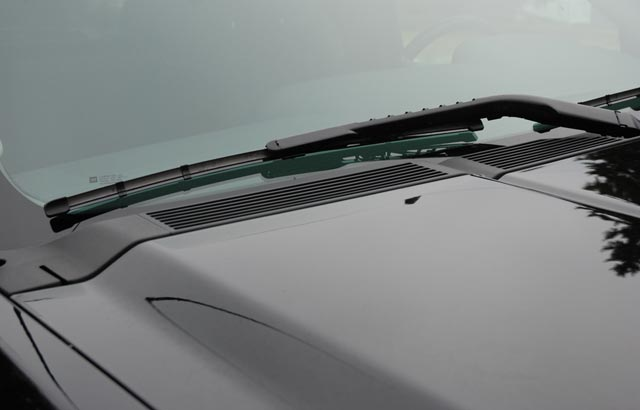 Worn Out Wiper Blades