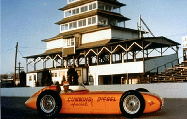 Diesels Have Raced at the Indianapolis 500.