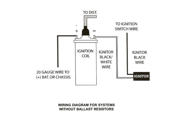 electronic ignition install 1955 Chevy Ignition Switch Wiring