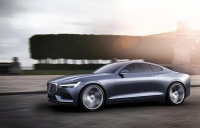 Volvo Concept Coupe Revives Legendary P1800.