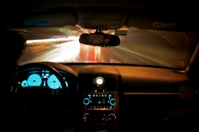 Safer Nighttime Driving | Automatic-dimming headlights cut the glare.