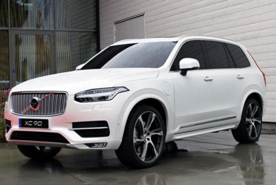 Volvo XC90 Equipped With New Scalable Product Architecture Chassis.