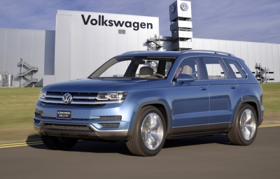Volkswagen Bringing Midsized SUV Production to Chattanooga.