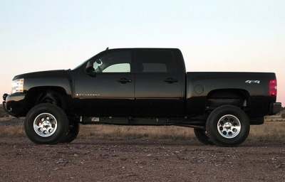 Pickup Truck Body Lift | A lower-price alternative to a suspension lift.