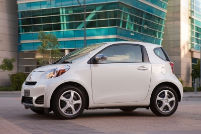 Weight Sensors Prompt Toyota To Recall Scion iQ.
