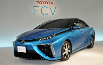 First Toyota Fuel Cell Vehicle Offered in Raffle