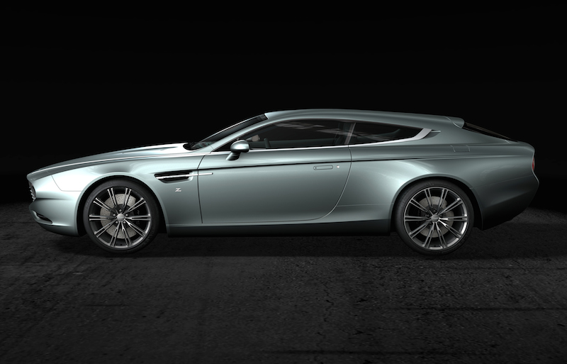 Zagato Aston Martin Virage Shooting Brake Built for European Buyer.
