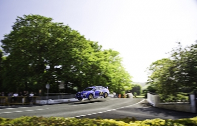 2015 Subaru WRX STI Breaks Isle of Man TT Record.